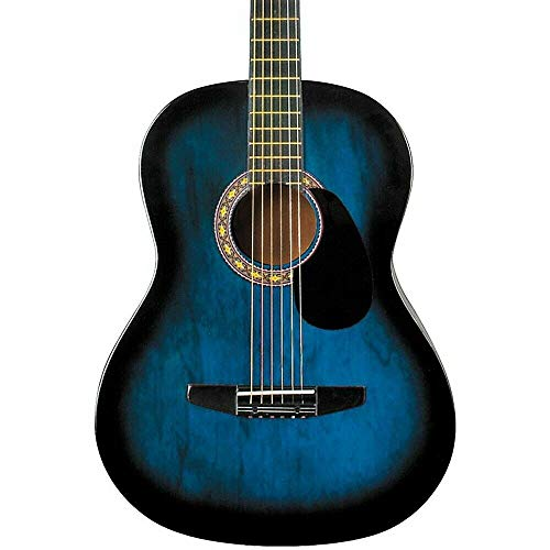 Product Image of the Rogue Starter Acoustic Guitar Blue Burst