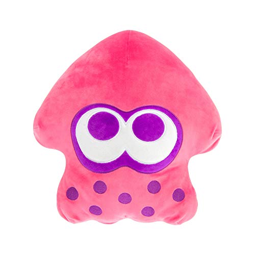 Club Mocchi Mocchi Splatoon 2 Mega Neon Green Squid Plush Stuffed Toy