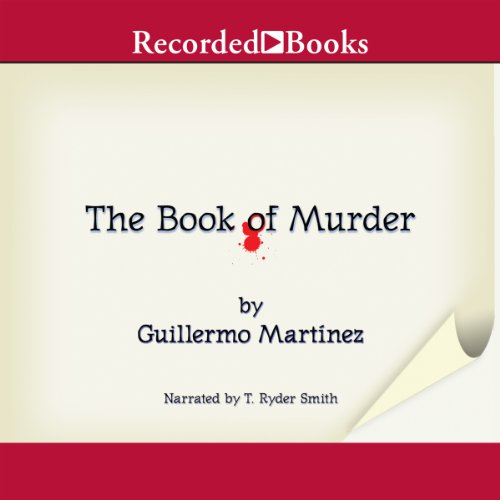 The Book of Murder audiobook cover art