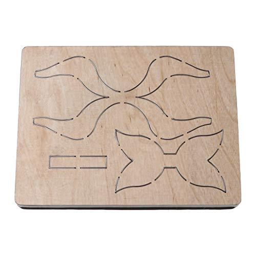 ZJL220 Arco Bowknot - Plantilla de corte Muore para manualidades, scrapbooking, álbumes de recortes, papel y gofrado, decoración Aceessory