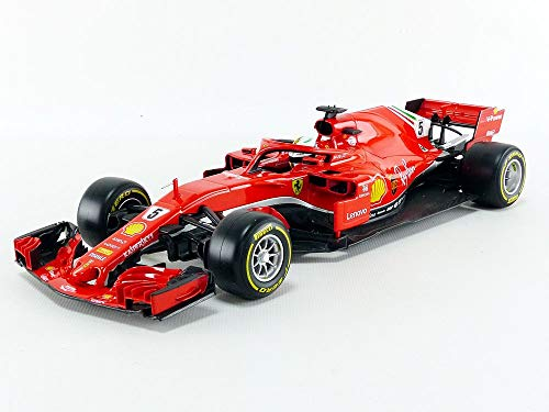 Bburago 1:18 Ferrari SF18-T (Diver #5 Sebastian Vettel)