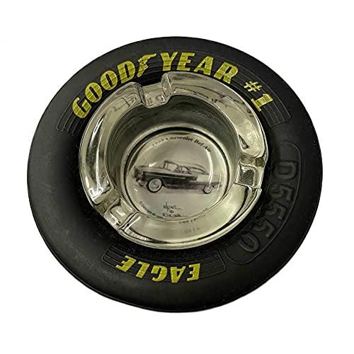 グッドイヤー タイヤ 灰皿 GOOD YEAR 1955 Chevrolet Bel Air ベルエア アメリカン雑貨 アメ雑