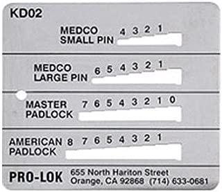 Pro-Lok Key Decoder - Medeco, Master & American