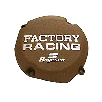 Factory Ignition Cover - Magnesium 1996-2008 Suzuki RM250 Offroad Motorcycle