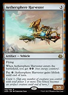Magic: the Gathering - Aether Revolt - Aethersphere Harvester