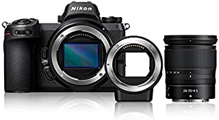 Nikon Z 7 Mirrorless Digital Camera with 24-70mm Lens and FTZ Adapter