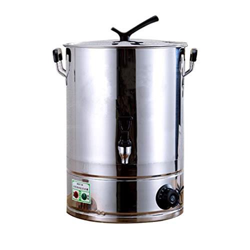 Giardino Urna de café Premium y dispensador de Bebidas Calientes, Control automático de Temperatura, Gran Capacidad con preparación rápida, fácil preparación y Limpieza, Uso...