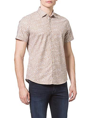 BOSS Rash 10232604 01 Camisa, Beige262, XL para Hombre