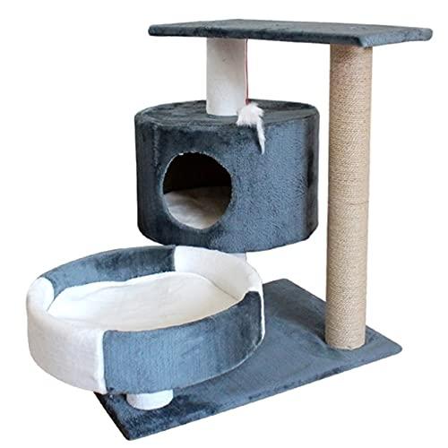 KOXG-S Juguetes de Cachorro Rascar Sencilla Junta De Doble Capa Gato Columpio Juguetes De Gato del Juguetes para Perros