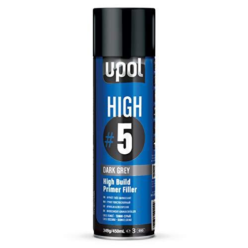 U-POL highdg Pâte/AL High5 Base, 450 ml, gris foncé