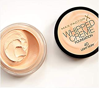 Max Factor Whipped Creme Foundation 40 Light Ivory