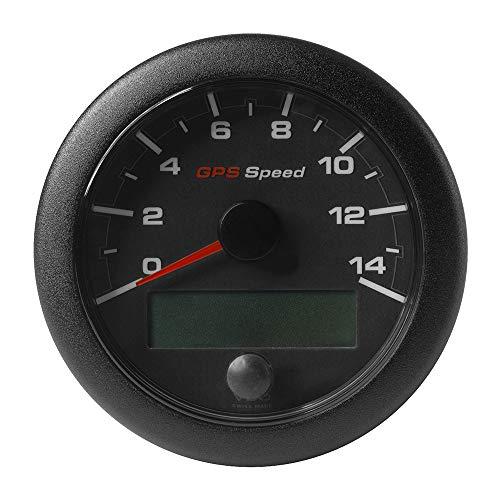 VDO OceanLink GPS-Tachometer 0-14, 85 mm, schwarzes Zifferblatt [A2C1351970001]