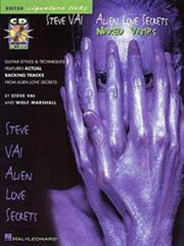 Steve Vai Alien Love Secrets Naked Vamps Guitar Signature Licks + CD