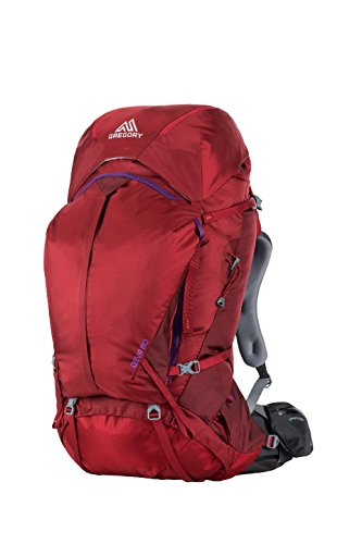 Gregory Mountain Products Deva 60 Liter Women's Backpack, Ruby Red, Small