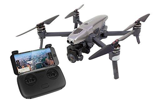 Walkera 15001000 Vitus Portable Quadrocopter RTF-FPV-Drohne mit 4K UHD-Kamera, Hinderniserkennung, GPS, Active Track, DEVO F8S-Fernsteuerung, Akku und Ladegerät