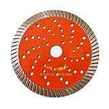 yueyang diamante poroso corrugado hoja de sierra circular para hormigón azulejo piedra carburo