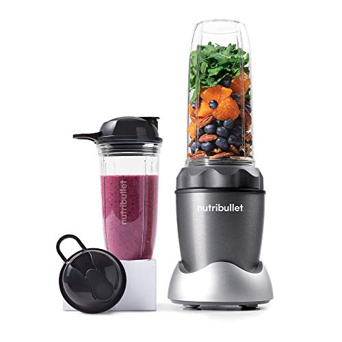 NutriBullet ZNB30100Z Pro 1000 Personal Blender, 32-Ounce, Light Gray