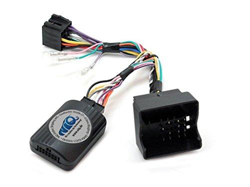 NIQ CAN-BUS Lenkradfernbedienungsadapter geeignet für SONY Autoradios, kompatibel mit Opel Astra / Antara / Corsa / Meriva / Signum / Tigra / Vectra C / Zafira