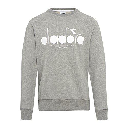 Diadora - Felpa Sweatshirt Crew 5PALLE per Uomo (EU M)