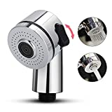 Alcachofa de Ducha Faucet Shower Head Spray Set,Faucet Extender Handheld Shower Multifunction Bathroom Rinser Hair Washing Drains Sink Connector