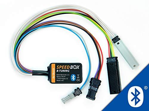 Speedbox B Tuning für eBike Bosch-Motoren, Programmierung via Bluetooth App // Handy