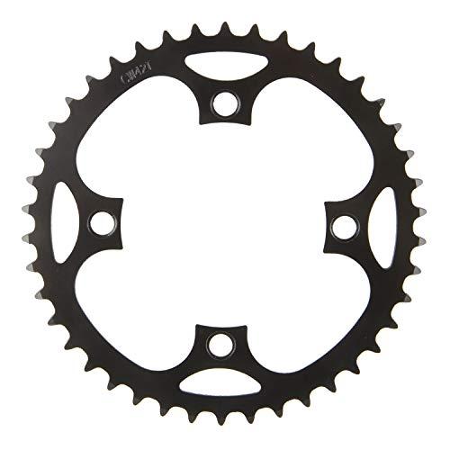 """E-Bike Kettenblatt, BCD 104mm, 36 Zähne, für 1/2\"""" x 3/32"""" und 11/128"""", schwarz, Stahl, auf M-WAVE-Karte"""