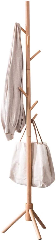 Coat Rack, Entrance Tree Coat Rack Minimalist Bedroom Entryway Hall Multi-Functional Clothing Hook Has Rack Hanger, Bold-A