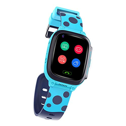 SODIAL Y95 4G ??Bambino Smart Watch Telefono GPS Smart Watch per Bambini WiFi Impermeabile Antil-Lost SIM Tracker Smartwatch HD Video Call Blue