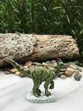 for Miniature Dollhouse Accessories ~ Mini Saurolophus Dinosaur Figure Verits Supplier for Home & Garden