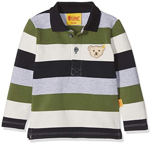 Steiff Steiff Baby-Jungen 1/1 Arm Poloshirt, Mehrfarbig (Y/d Stripe|Multicolored 0001), 80