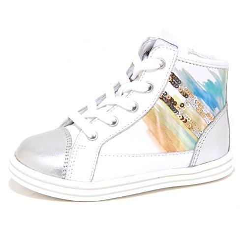 Hogan 6535P Sneaker Rebel R141con SEGNI Colla Scarpa Bimba Shoe Kid [21]
