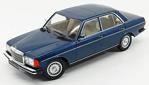KK-Scale Mercedes-Benz W123 280E E-Klasse Limousine Blau Metallic 1975-1986 1/18 Modell Auto