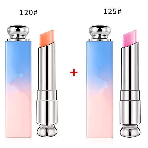 3Packs Lippenbalsem, Langdurige Voedzame Lippenbalsem, Lippen Moisturizer Magic, Temperatuur Kleurverandering Lipstick,M2