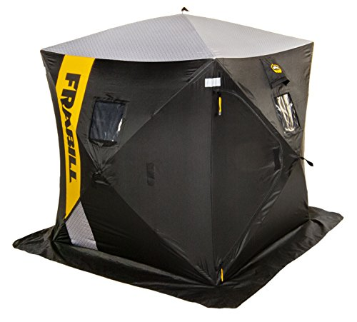 commercial Frabil HQ200 hub shelter for 2-3 people ice fishing shelter