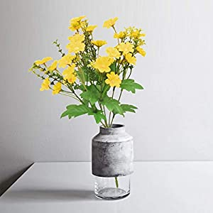 Codiea Gypsophila Bouquet,5pcs Spring Summer Artificial Flower Bouquet Ornaments for Vase,Simulation Gypsophila Spring Indoor Bouquet for Wedding Party World Day Mother's Day Decorations