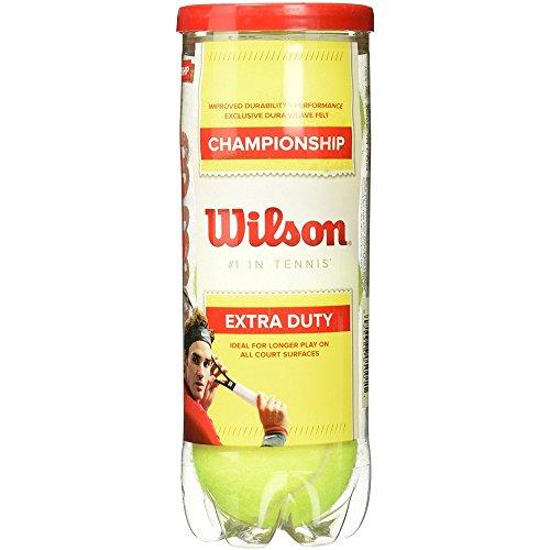 Wilson Championship Pelotas de tenis extra resistentes