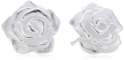 Drachenfels Design Damen-Ohrstecker 925 Sterling Silber D ROF 21/AG