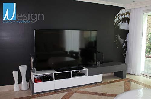 Centro De Entretenimiento Y Tv Modelo 4 De Diseño Nesign