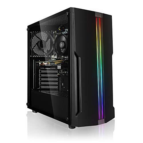 Megaport PC Gamer AMD Ryzen 3 3100 4X 3.60GHz • nVidia GeForce GTX1660 • 8 Go DDR4 2400 • 1To HDD • Windows 10 • Unité Centrale • Ordinateur de Bureau • PC Gaming • Ordinateur Gamer