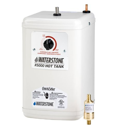 Waterstone 5000 White Waterstone Hot Water Tank - Quick & Hot
