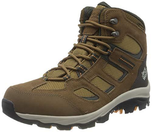 Jack Wolfskin Damen Vojo 3 Texapore Walking-Schuh, Brown/Apricot, 35 EU