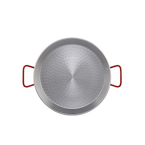 Metaltex - Paellera Acero Pulido 8 Raciones 38 cm