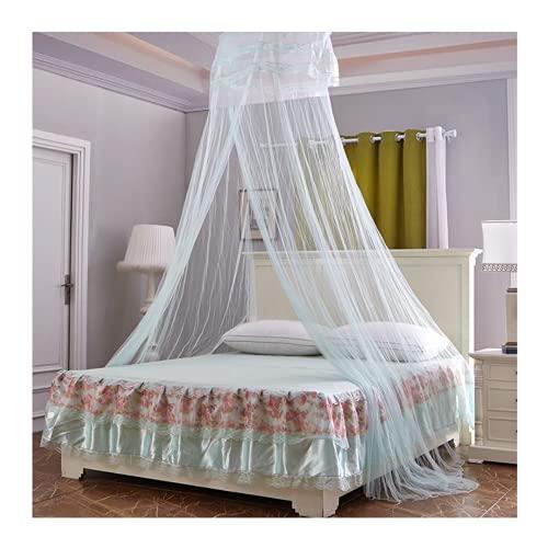 Msoah Canopy De Mosquitera Universal, Mosquito Net Blanca con Diseño De Cúpula, Fácil Cama Colgante Canopy Netting, Protección De Red De Insectos para Camas Individuales Y Dobles