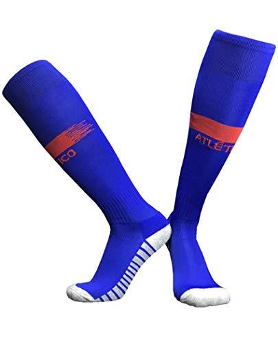 XXSPU calcetines calcetines de fútbol calcetines de baloncesto calcetines de correr calcetines de entrenamiento calcetines de juego calcetines para adultos,el Atlético de Madrid de distancia,EU36-45