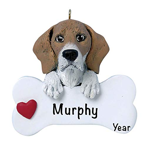 Holiday Traditions Dog Christmas Tree Ornaments 2020 – Personalized Dog Ornaments for Christmas Tree – Polyresin Beagle Dog Christmas Ornaments, Beagle Dog Ornament – Beagle Gifts