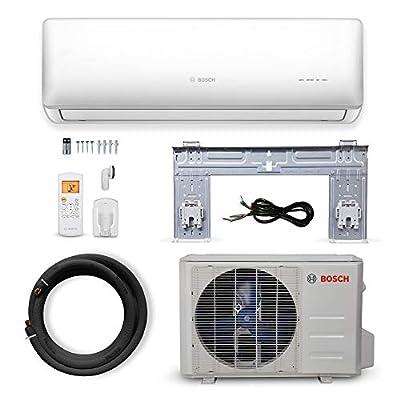 Bosch Thermotechnology Ultra-Quiet 18K BTU 230V Mini Split Air Conditioner & Hyper Heat System Gen 2 with Inverter Heat Pump, 20 SEER High-Efficiency and Energy Star Certified