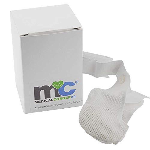 Medicalcorner24® Suspensorium Hodenschutz Bandage Tiefschutz Suspensor, abnehmbarer Beutel, Gr. 5