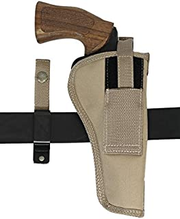 Barsony New Desert Sand Ambidextrous 360Carry 8 Option Holster for 6