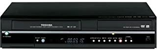 Toshiba D-VR600 Tunerless 1080i Up-Converting DivX Certified DVD Recorder VCR Combo (Renewed)