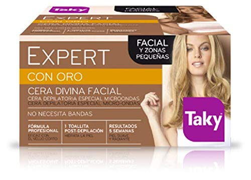 Taky Expert con Oro Cera Divina Facial Depilatoria - 100 gr